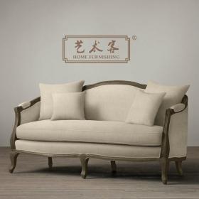 美式复古沙发装修案例