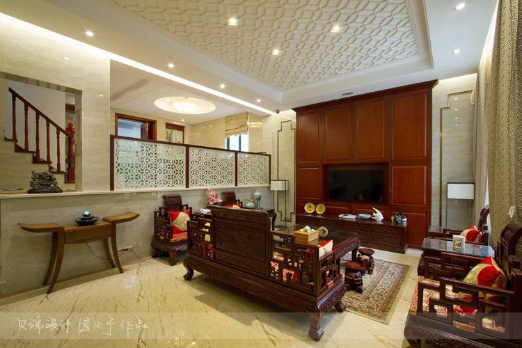 中式设计--苏州丽岛别墅