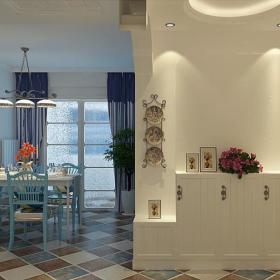 地中海餐厅门厅设计图