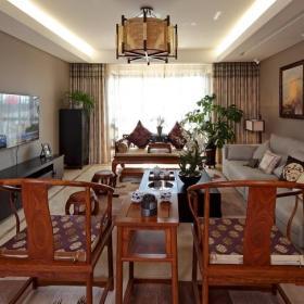 中式古典客厅设计案例展示