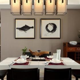 中式新古典餐厅案例展示