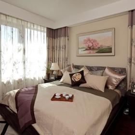 中式古典卧室设计图