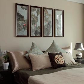 中式新古典古典卧室设计案例