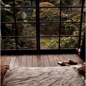 日式卧室门窗图片