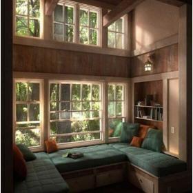 美式榻榻米门窗设计图