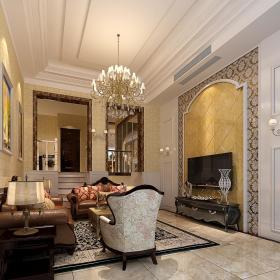 古典客厅设计案例