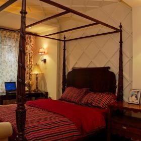美式卧室吊顶装修图