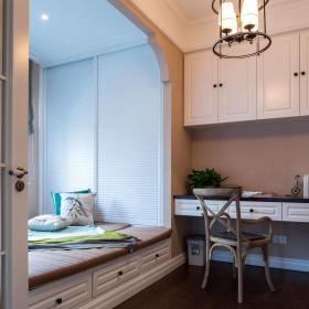 美式卧室书房设计方案