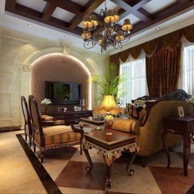 古典客厅图片
