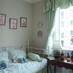 欧式田园古典儿童房装修效果展示