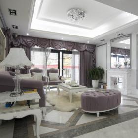 欧式古典客厅设计图